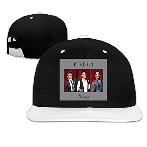 Jason A Ramirez Il Volo The Platinum Collection Unisex Breathable Sun Hat,Fashion Baseball Cap,dad Hat,Adjustable