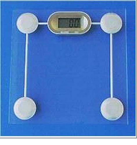 Do Gain GS1 Glass Digital Bathroom Scale 440 lb x 0.2 lb, New X37432