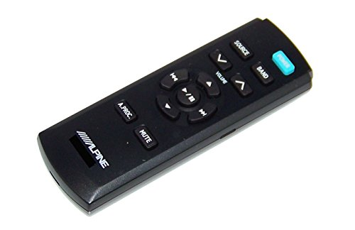 OEM Alpine Remote Control Originally Shipped With: CDEHD138BT, CDE-HD138BT, CDA9857, CDA-9857, CDE9841, CDE-9841