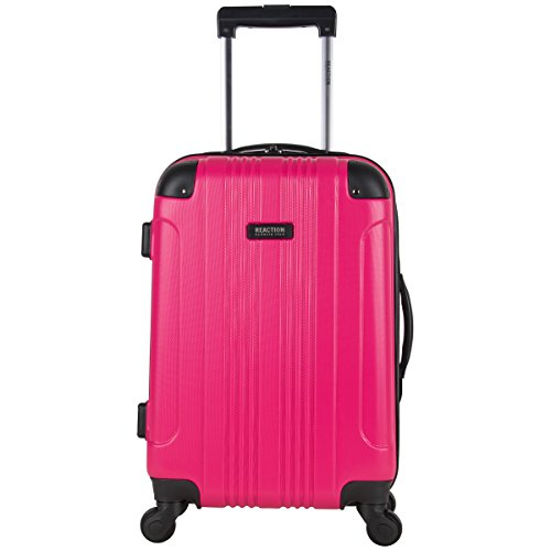 Kenneth Cole Reaction Out Of Bounds 20-Inch Carry-On Lightweight Durable Hardshell 4-Wheel Spinner Cabin Size Luggage (Hard Cover Suitcase For Kids)
