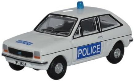 Oxford Diecast 76FF004 Ford Fiesta MkI Essex Police