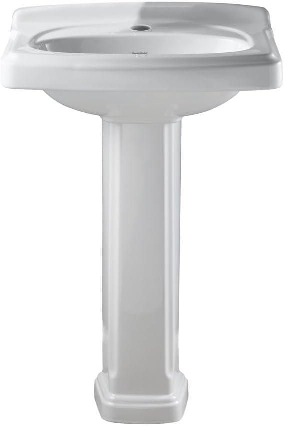 American Standard 0555 101 020 Townsend Portsmouth Pedestal Sink