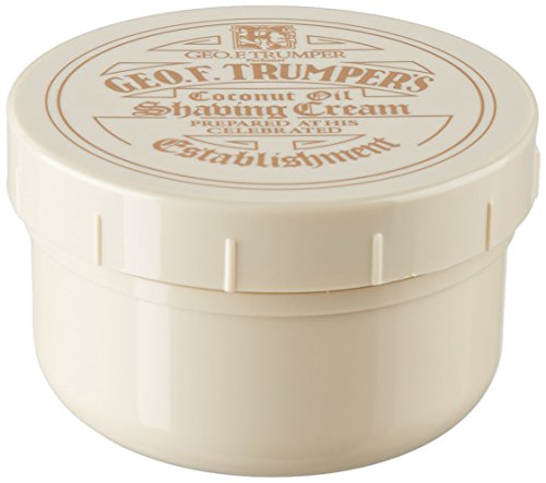Trumper Almond Shaving Cream - Geo F. Trumper Coconut Oil Soft Shaving Cream 200 g cream