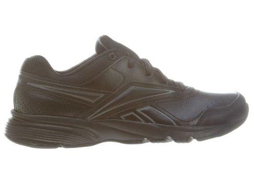 Reebok Women's Steady Stride II Walking Shoe,Black/Medium Grey,8 M US