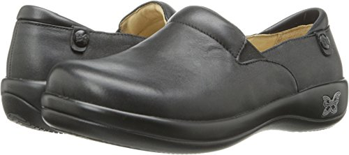 Alegria Women's Keli Professional Black Nappa Leather EU 42 Wide US 11 W by Alegria