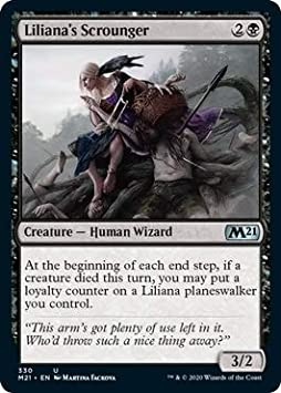 - Core Set 2021 Liliana/'s Scorn Magic the Gathering MTG