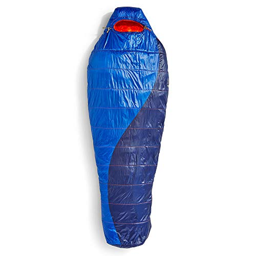 EMS Velocity 35 Degree Mummy Sleeping Bag, Long Surf Web/Blue Depths LZIP