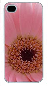 Pink Flower2 PC Protective Cover for Iphone 4/4s of Sun-wincase