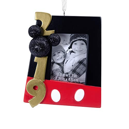 Disney Christmas Photo Cards (Hallmark Christmas Ornaments 2019 Year Dated, Disney Mickey Mouse Picture Frame)