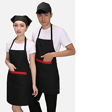 kitchen smock/Supermarket cashier overalls/[Apron]-E