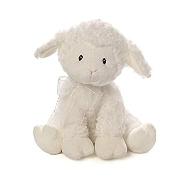 Amazon Com Baby Gund Lena Lamb Jesus Loves Me Musical Stuffed