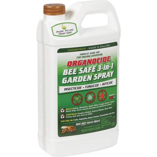 Organocide Bee Safe 3-In-1 Garden Spray Concentrate 1 Quart ()
