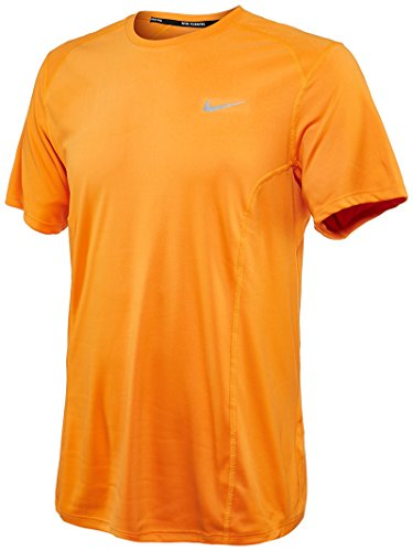 Miler Ss Uomo Vivid Naranja Silv Orange Maglietta Nike Df Reflective g655w