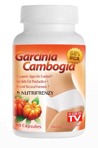 N ° 1 Garcinia cambogia extrait - Pure Garcinia Cambrogia, HCA 60% Éprouvé en clinique, la perte de poids, 1000mg, 60 capsules végétariennes, 30 Day Supply