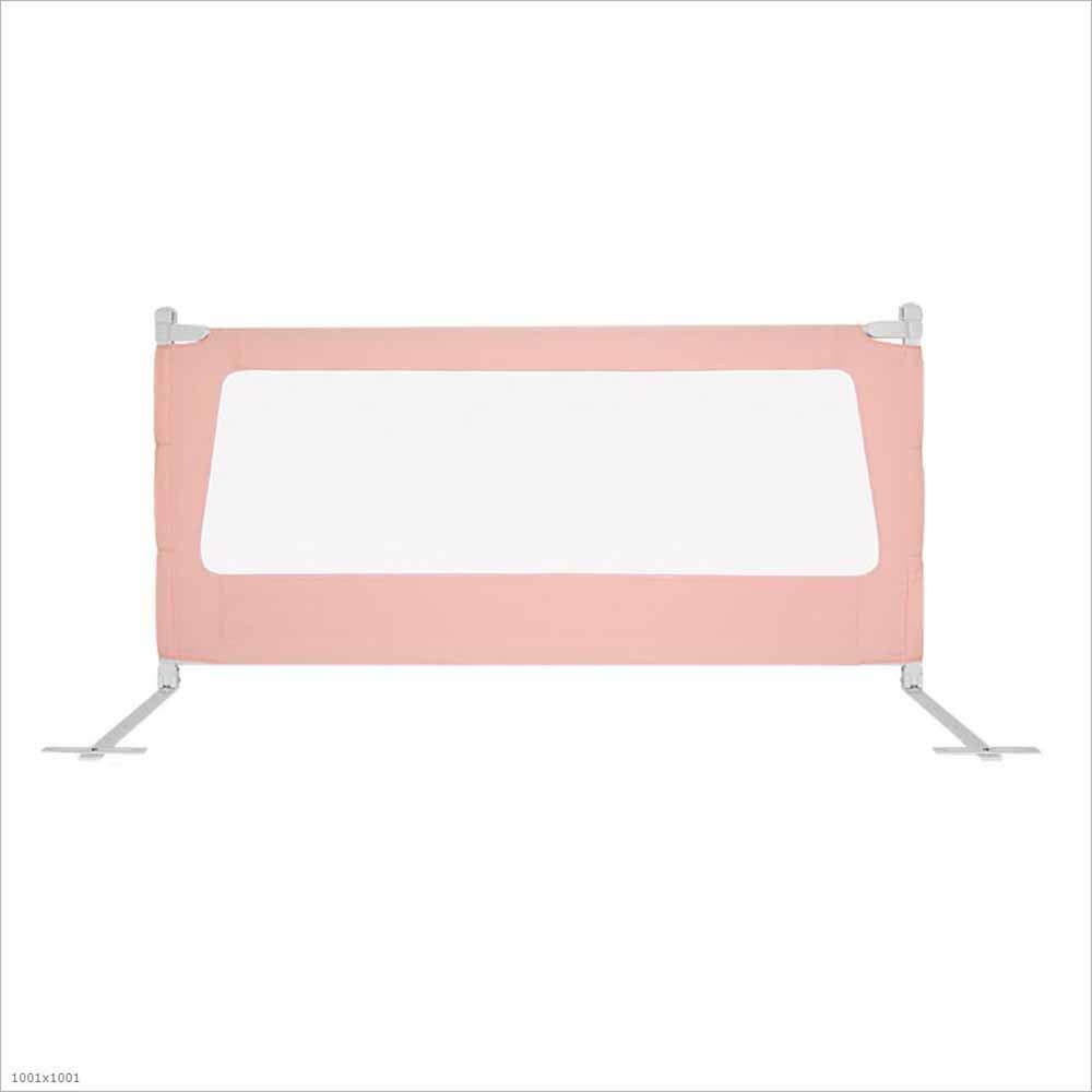 HCYTPL Baby Bed Guardrail, Anti-Sturfall kann Heben und unteren Bett garantiert Rosa,200cm B07NPM179Y Bettzubehr