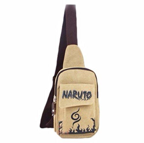 rare Schultertasche Tasche Shoulder Bag Rucksack reisetaschen Stadt Braun Naruto new
