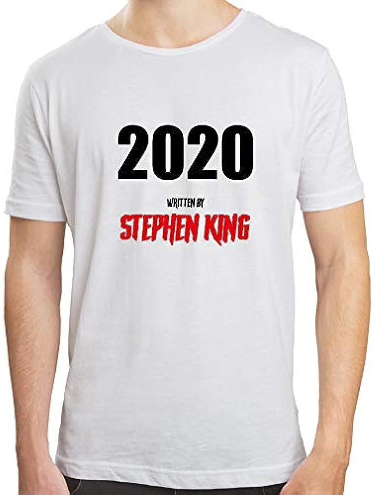 Camiseta Hombre 2020 Stephen King | Camiseta Algodón Hombre ...