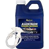 Star Brite Ultimate Aluminum Cleaner & Restorer - Safely Clean Pontoon Boats, Jon Boats & Canoes