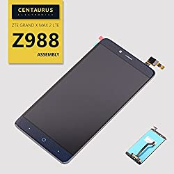 For Zte Grand X Max 2 Lte Z988 6.0'' Touch Screen Digitizer Lcd Display