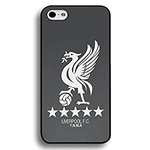 Gray Printed Livepool Football Club Logo Phone Case Hrad Plastic Case Cover For Iphone 6 Plus/Iphone 6S Plus