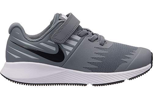 Nike 921443-006: Little Kids Star Runner PS Cool Grey/Black Sneakers (3 M US Little Kid)
