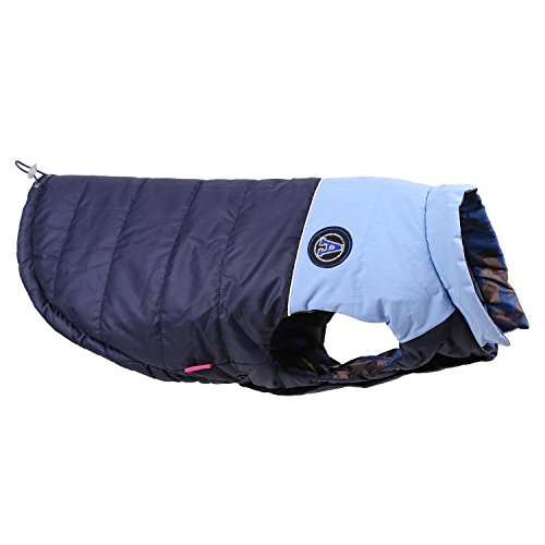 GoLoveFun Dog Apparel Winter Pet Coat Cold Weather for Extra Large,Large,Medium Male Female Pets(Navy,XL)