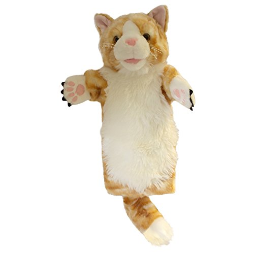 The Puppet Company Long-Sleeves Ginger Cat Hand Puppet ()