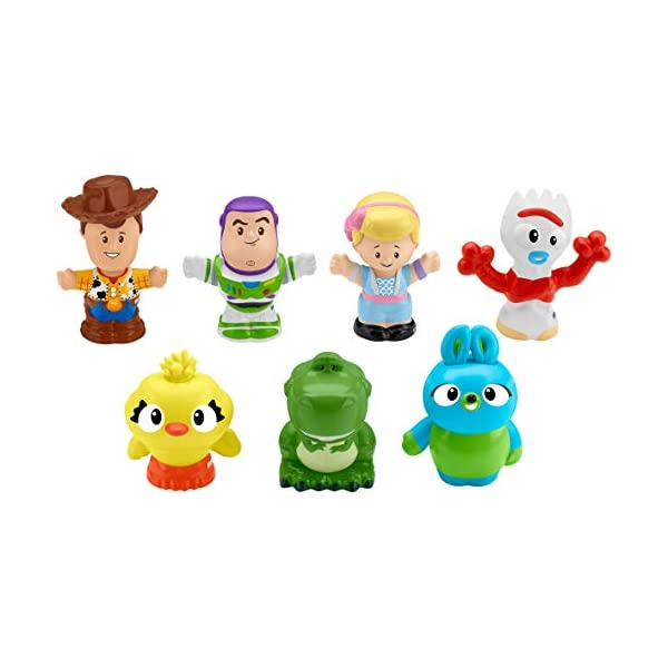 41OjLAyfv1L. SS600  - Fisher-Price Disney Toy Story 4, 7 Friends Pack by Little People