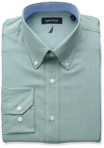 Green Button Down Collar - 5