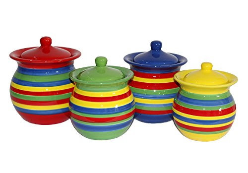 ... Colorful Kitchen Canisters Sets Colorful Kitchen Canisters Amazon Com  ...