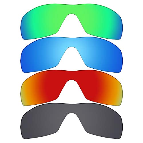 Mryok 4 Pair Polarized Replacement Lenses for Oakley, used for sale  Delivered anywhere in Canada