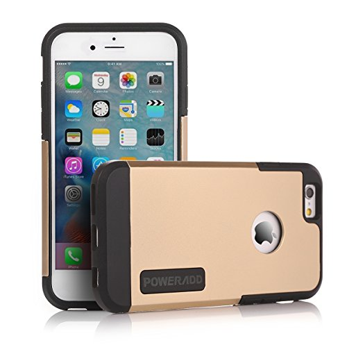 Poweradd Apple iPhone 6/6S Case with Double Layer Shock Absorbing