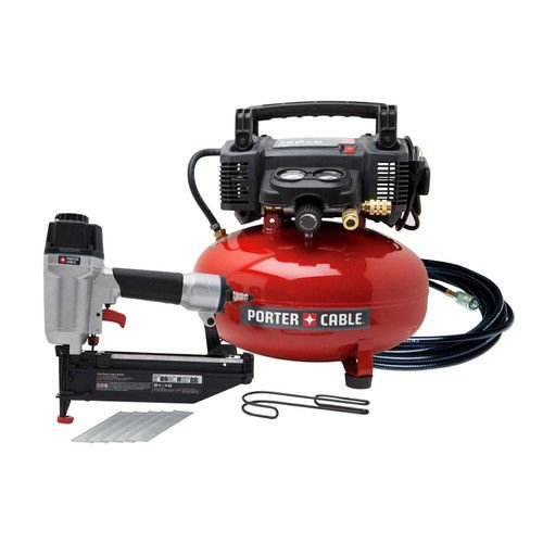 PORTER CABLE PCFP72671 Finish Nailer/Compressor Combo Kit
