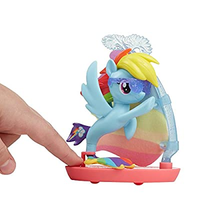 My Little Pony: The Movie Rainbow Dash Undersea Sports: Toys & Games