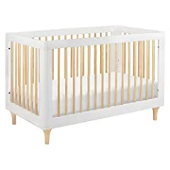 The Lolly 3-in-1 Convertible Crib highlights the natural beauty of our sustainable materials with dramatic contrast styling and playful accents such as gently curved corners and tapered natural feet. Modern and functional, an included toddler...