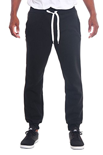 G-Style USA Men's Basic Fleece and Athletic Cotton Jogger Pants