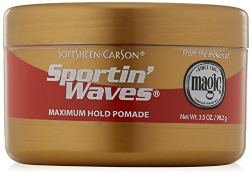 Price comparison product image SoftSheen-Carson Sportin' Waves Maximum Hold Pomade, 3.5 oz