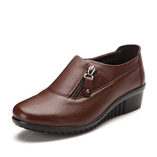 Madre zapatos fondo suave en primavera/Ocio zapatos de mujer de mediana edad grande/escoge los zapatos A