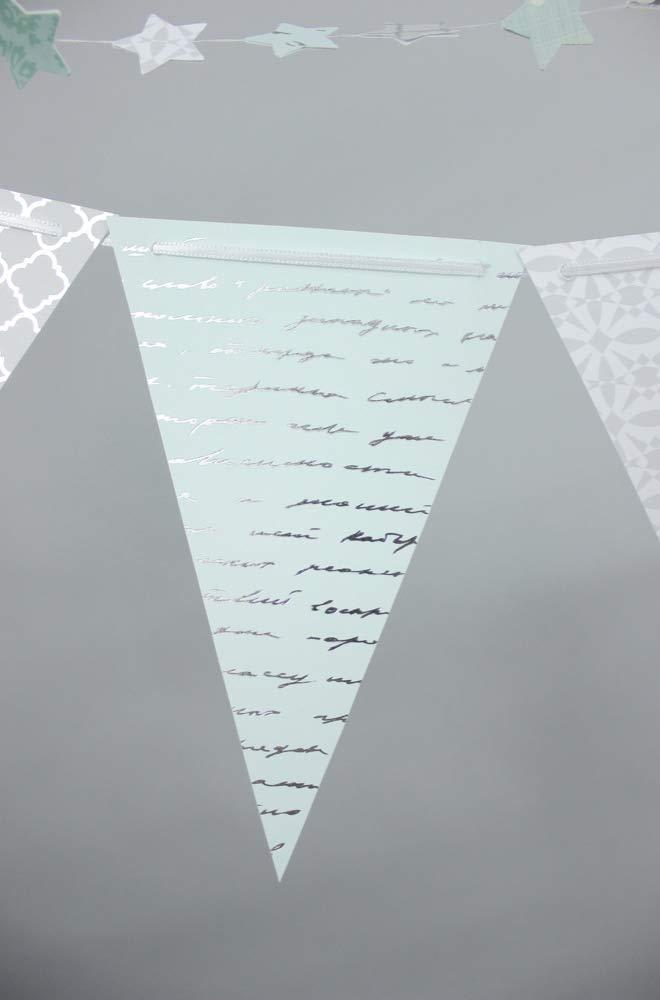 Wimpelkette Mit Sternengirlande Papierbasteln Traumhaftes