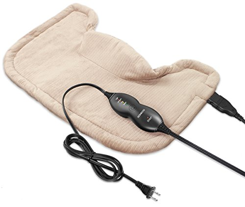 DONECO Neck & Shoulder Heating Pad with Fast-Heating Technol