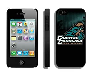 Popular Cool Hard Shell Cover for Iphone 4 Apple Iphone 4s Cases Ncaa Cheap Designer Cellphone Protector