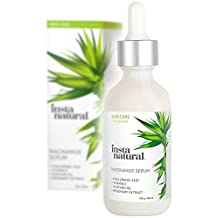 InstaNatural Niacinamide Vitamin B3 5% Serum - Anti Aging Facial Serum - For Youthful, Fair & Clean Acne Prone Skin - 2 OZ