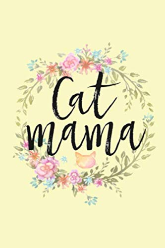 Teens Kitten - Cat Mama: Lined Notebook, 110 Pages
