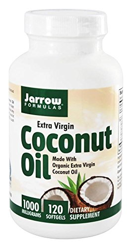 Jarrow Virgin Coconut 1000mg Softgels product image