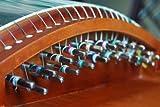 21 String Carved Rosewood Guzheng Instrument