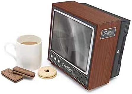 CamKpell Vintage TV Teléfono móvil Smartphone Pantalla Lupa Amplificador de Video Ampliado Soporte de expansión para Video TV Show: Amazon.es: Electrónica
