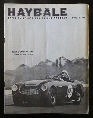 Haybale Official Sports Car Racing Program 1961 VINTAGE ORIGINAL