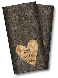Wedding Tree Cornhole Wrap, 24