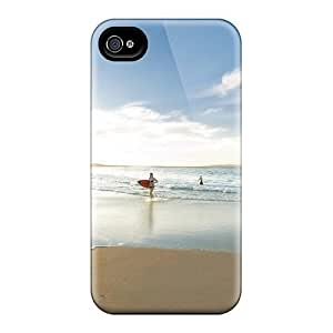 Premium Surf Mar Playa Arena Heavy-duty Protection Case For Apple Iphone 5C Case Cover