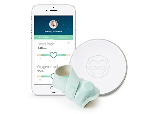 Owlet Smart Sock 2 Baby Monitor - Track Your Infant's Heart Rate & Oxygen Levels by Owlet